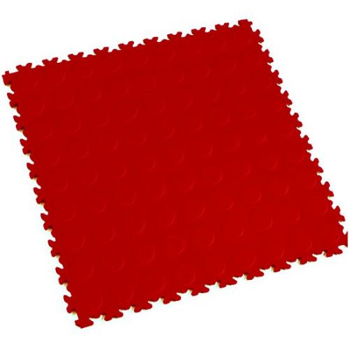 Red Cointop - Motolock Interlocking Floor Tile